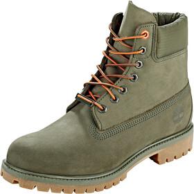 "Timberland Premium Boots 6"" Men, dark green nubuck"